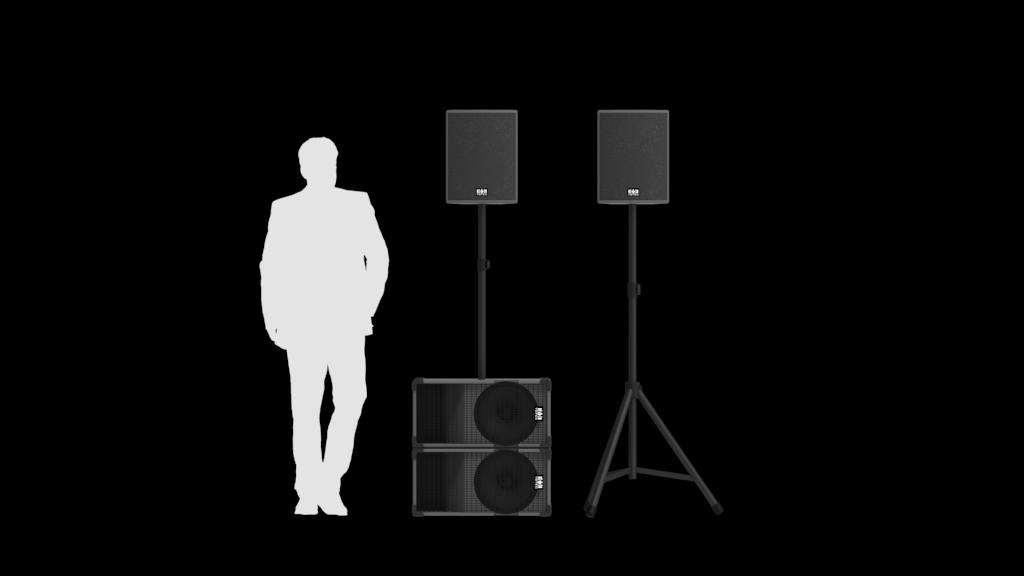 Totec PA Verleih - System 2