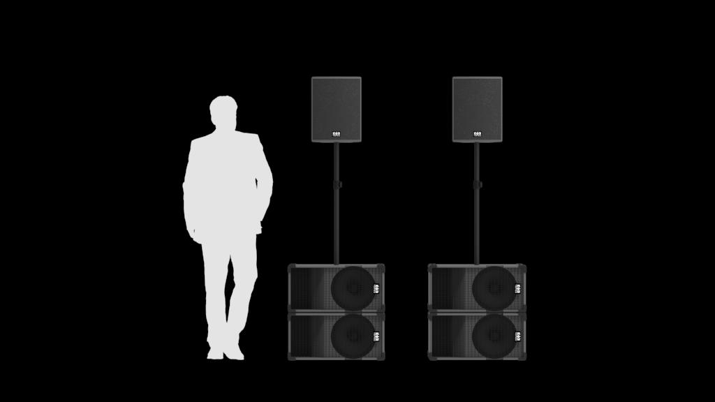 Totec PA Verleih - System 3